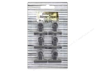 craft & hobbies: BCI Crafts Bull Clips 31mm Silver 6pc
