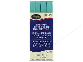 Wrights Extra Wide Double Fold Bias Tape 3 yd. Aquamarine 2