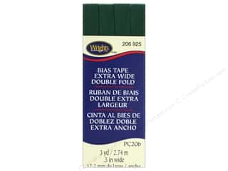 Wrights Extra Wide Double Fold Bias Tape 3 yd. Hunter