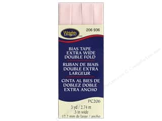 Wrights Extra Wide Double Fold Bias Tape 3 yd. Rosewater