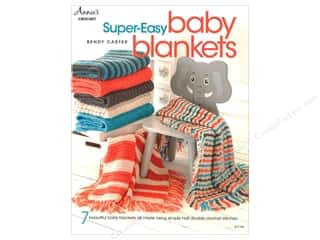 yarn: Annie's Super-Easy Baby Blankets Book