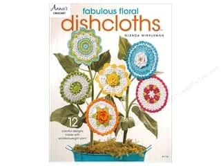 yarn: Annie's Fabulous Floral Dishcloths Book