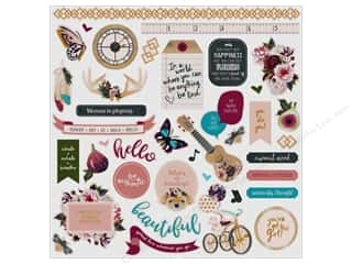 Photo Play Gypsy Rose Sticker Element 12 in. x 12 in.