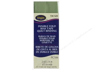 sewing & quilting: Wrights Quilt Binding Double Fold 3 yd Sage