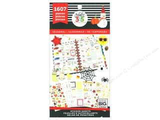 Me&My Big Ideas Happy Planner Sticker Value Pack Seasonal