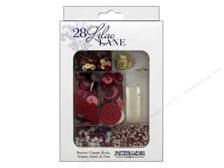 craft & hobbies: Buttons Galore 28 Lilac Lane Embellishment Kit Love Story
