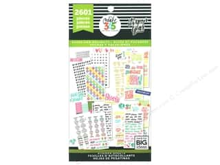 Me&My Big Ideas Collection Create 365 Happy Planner Sticker Value Pack Teacher Sweet Life