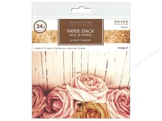 patterned paper: Multicraft Stack Pad  6 in. x 6 in. Vintage 2 24 pc