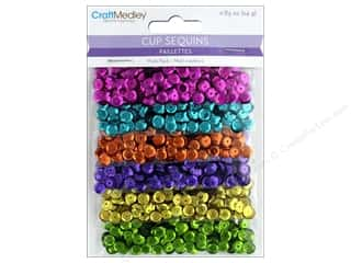 Multicraft Cup Sequins 6 mm Glimmer Glam 24 gm