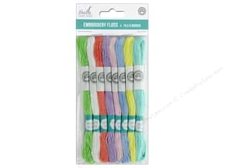 MultiCraft Cord Needlecrafter Embroidery Floss 6 Strand Pastel