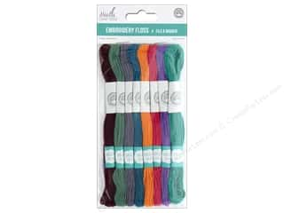 yarn & needlework: MultiCraft Cord Needlecrafter Embroidery Floss 6 Strand Glamour
