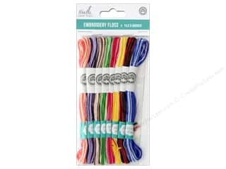 yarn & needlework: MultiCraft Cord Needlecrafter Embroidery Floss Cord 2 Strand Variegated Darks