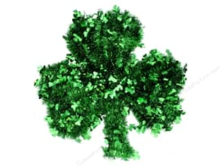 craft & hobbies: Darice Tinsel St Patrick Shamrock