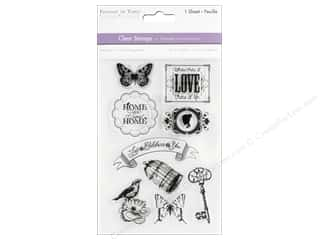 scrapbooking & paper crafts: Multicraft Stamp Clear Home Sweet Home