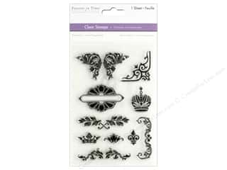 scrapbooking & paper crafts: Multicraft Stamp Clear Noble Floral