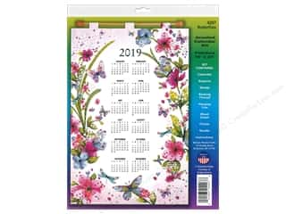yarn & needlework: Design Works Kit Sequin Calendar 2019 Butterflies