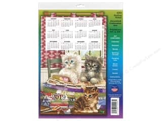 Design Works Kit Sequin Calendar 2019 Quilting Kitties