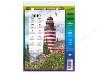 yarn & needlework: Design Works Kit Sequin Calendar 2019 Lighthouse