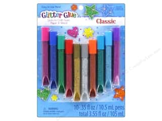 glue pen: Sulyn Glitter Glue Pens 10 pc Classic