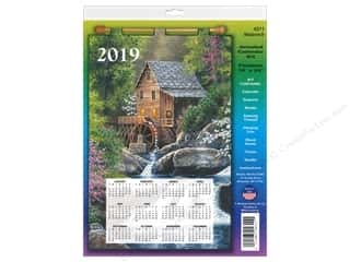 yarn & needlework: Design Works Kit Sequin Calendar 2019 Watermill