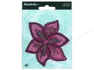Simplicity Applique Trend Flower Bloom
