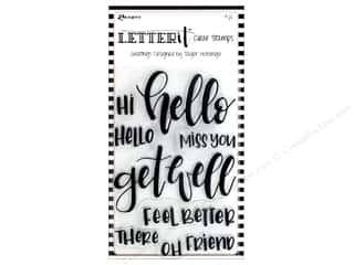 Ranger Letter It Clear Stamp Set Greetings