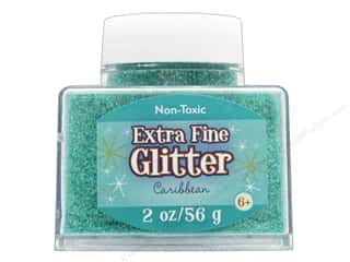 craft & hobbies: Sulyn Glitter 2oz Stack Jar Extra Fine Caribbean