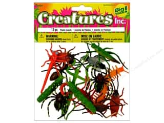 "Darice Plastic Insects 2"" 16pc"