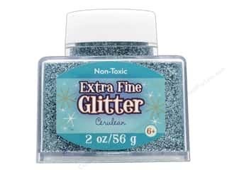 craft & hobbies: Sulyn Glitter 2 oz Stack Jar Extra Fine Cerulean