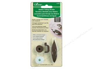 yarn & needlework: Clover Bobbin Tatting Shuttle Set Brown