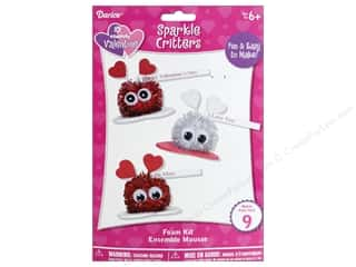 craft & hobbies: Darice Foamies Kit Sparkle Critter 9 pc