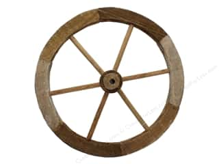 Darice Wood Wheel 12 in. x 12 in. x .75 in.