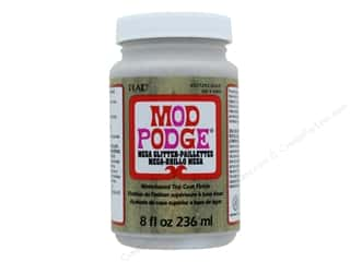 glues, adhesives & tapes: Plaid Mod Podge Mega Glitter Gold 8 oz