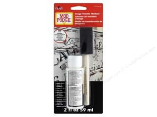 glues, adhesives & tapes: Plaid Mod Podge Image Transfer Medium With Brush Clear 2 oz