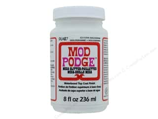 glues, adhesives & tapes: Plaid Mod Podge Mega Glitter Hologram 8 oz