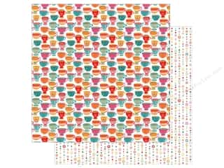 Clearance: Photo Play Paprika Paper 12 in. x 12 in. Tea For Two (25 pieces)