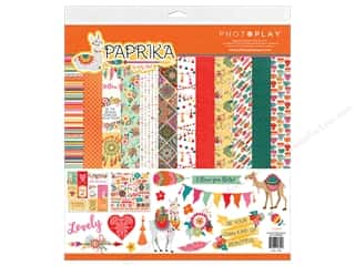 Clearance: Photo Play Paprika Collection Pack 12 in. x 12 in.