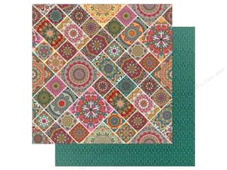 Clearance: Photo Play Paprika Paper 12 in. x 12 in. Mandalas (25 pieces)