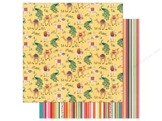 Clearance: Photo Play Paprika Paper 12 in. x 12 in. Llama Drama (25 pieces)