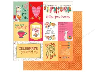 Clearance: Photo Play Paprika Paper 12 in. x 12 in. Llove Llife (25 pieces)