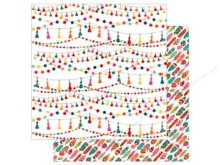 Clearance: Photo Play Paprika Paper 12 in. x 12 in. Tassels (25 pieces)