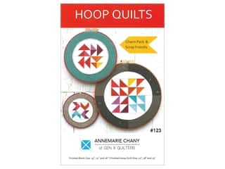 Clearance: AnneMarie Chany Hoop Quilts Pattern