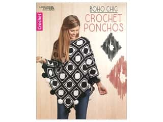 Leisure Arts Boho Chic Crochet Ponchos Book