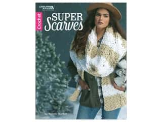 Clearance: Leisure Arts Super Scarves Book