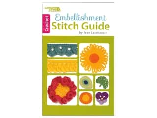 Leisure Arts Embellishment Stitch Guide Book
