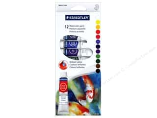 craft & hobbies: Staedtler Watercolor Paint Set 12 pc (6 sets)