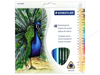 colored pencils: Staedtler Colored Pencil Triangular 48 pc (3 sets)