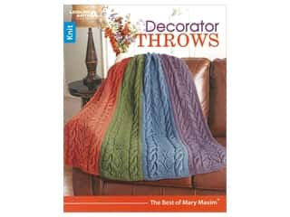 books & patterns: Leisure Arts Decorator Throws Book
