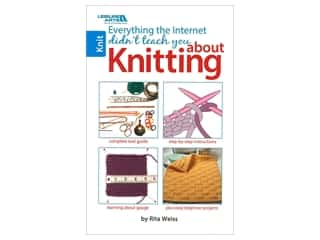 books & patterns: Leisure Arts Everything Internet Didn't Teach About Knit Book