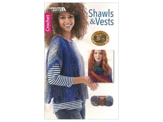 Leisure Arts Shawls And Vests Book